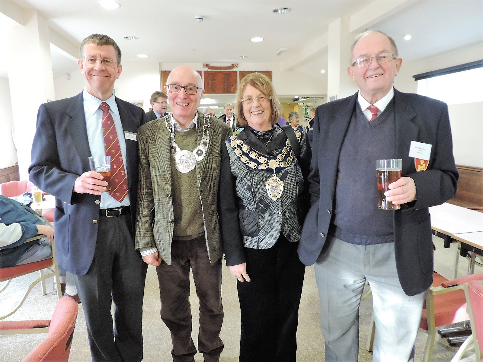 Mayor of Weston visit