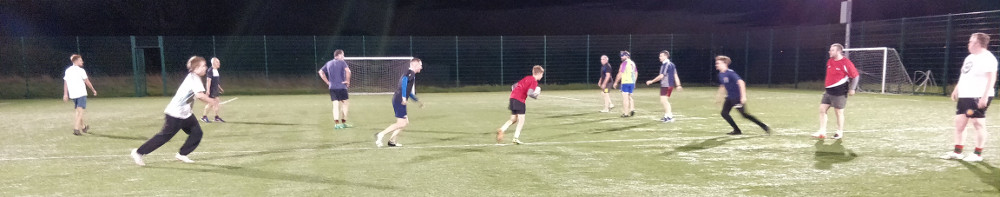 Touch Rugby under lights