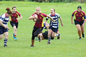Ladies secure first league win